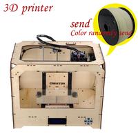 Flashforge creator 3d printer machine dual extruder Three-dimensional extrusion machine PLA & ABS plastic parts