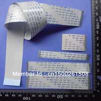CUSTOMIZED ORDER : Flat Flex ribbon FFC cable 4 - 80 pin 30 - 8000mm long pitch 0.5mm 0.8mm 1.0mm 1.25mm 2.54mm awm vw-1