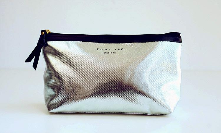 Emma Free Shipping fashion Women Zipper Cosmetic Case Bag Makeup Purse wash bag hot sale(China (Mainland))