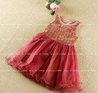 Girls summer children sequined dance tutu dresses baby kids dance/party clothing  EI6DS39-65FC