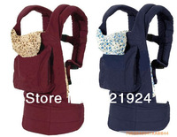 2013 Hot sale cotton multifunctional baby carrier high grade suspenders baby carrier baby backpacks 15 color free shipping