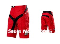 Men Padded Shorts With YKK Zipper! 2014 Troy lee design TLD Mountain Bike Shorts Bicycle Cycling DOWNHILL Bike Shorts Red