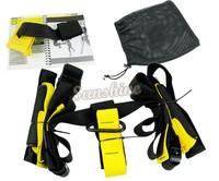 2sets/Lot Training Fitness Equipment Spring Exerciser Hanging Belt Resistance Set Free Shipping 12309#6 24