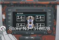 English Interface Usermanual DVD TPMS 4 sensors for CAR DVD GPS Car External Sensors Support All DVD Player Hot Sale