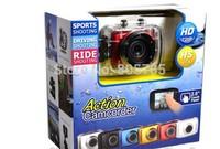 Sport camera Helmet Waterproof Action Camera DVR Camcorder Driving Recorder For Bike/Diving/Surfing/Ski/Skydiving HD 720P camera
