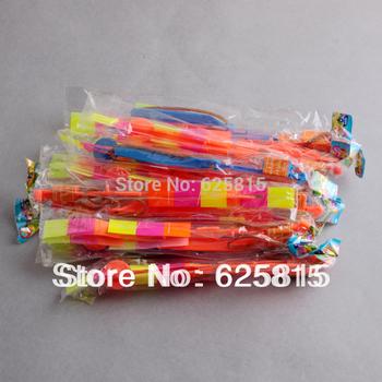 Hot Sale 12pcs/lot 2013 Newest Toy Flying Arrow Christmas Toys Rocket Parachute For Children 30-343