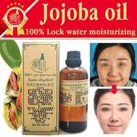 Free shopping 100% pure plant base oil Australian jojoba massage oil 100ml skin care Essential Oil king