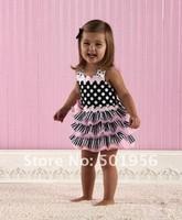Retail summer children girl dress infant tutu girl dress lace pettiskirts cake dress free shipping