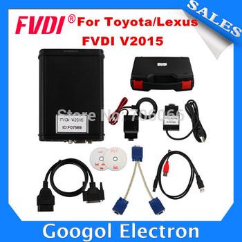 2015 AVDI/FVDI ABRITES Commander For Toyota/Lexus V9.0 Software USB Dongle For Toyota FVDI With Free Hyundai/Kia/Tag Key Tool