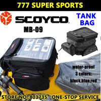 100% Waterproof Motorcycle Tank Bag Motorbike Backpack Helmet Bags Large Capacity Fitting Long Distance  Scoyco MB09
