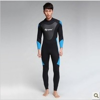 2013 New WAVE 2.2mm Full Neoprene Men's Wetsuit for Diving, Swimming,Surfing,Snorkelling, Fishing Free Shipping