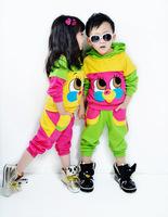 2013 New Lastest Fashion Lovely Kids suits Sport suit Casual clothes Children clothing 2pcs set coat+pants