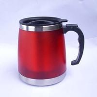 Free shipping 14OZ Stainless steel coffee mug travel mug  insulated