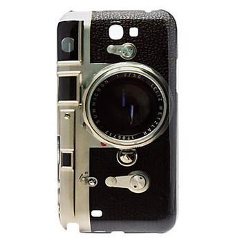 Free shipping Retro Camera Design Hard Case for Samsung Galaxy Note2 N7100