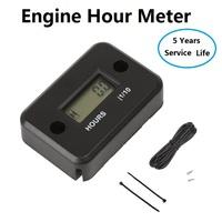 2014 New Engine Hour Meter for gasoline Engine,Marine,Motorcycle,Snowmobil,ATV .waterproof