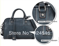Free Shipping Hot 2013 New European And American Style Lady Hand Shoulder Bag Motorcycle Bag Tide B140
