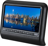 """9"""" Car Active backseat/rearseat Headrest DVD Player w/o pillow For all cars with IR FM Speaker Game USB SD 800*480, for BMW AUDI"""