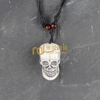 12pcs Wholesale Tibetan Jewelry Yak Necklace Fashion Artificial Bone Pendant Skeleton N0194