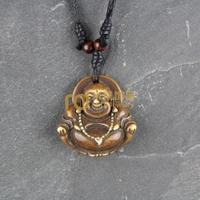 12pcs Free Shipping Indian Jewelry Bone Necklace Classic Unisex Style Pendant Buddha N0315