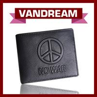 2014 New Design Genuine Leather /nature skin Wallet,Anti-war Memorial High-grade Men's Purse/wallet,hot sale wallet MW-74