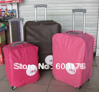 Free Shipping 2 Pcs/Lot Luggage Protective Cover For 20 24 26 28 inch Suitcase Pull Rod Trunk Case Travel Accessories