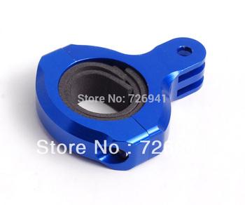 Billet Alu anodized for gopro camera 31.8mm Pro Handlebar Mount adapter(blue)