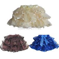 tutu baby skirt Children's Clothing girls skirts pettiskirts girl skirt with ribbons girls ball gown ruffle baby bloomers 14
