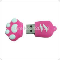Free shipping New Promotion price cartoon claw model usb memory stick usb flash drive pen drive 4GB 8GB 16GB 32GB