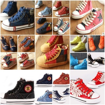 Free shipping promotions! New Arrival! Top Quality  boy girl canvas shoes fashion casual shoes for kids,