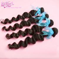 """Q love hair products 4pcs/lot,peruvian virgin hair loose wave 100% virgin human hair mixed length 12""""-30"""" free shipping"""