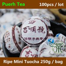 2009 Semen Cassiae Tea Puer Mini Tuocha 500g Quality Menghai Tea Famous Brand Yunnan Ripe Pu