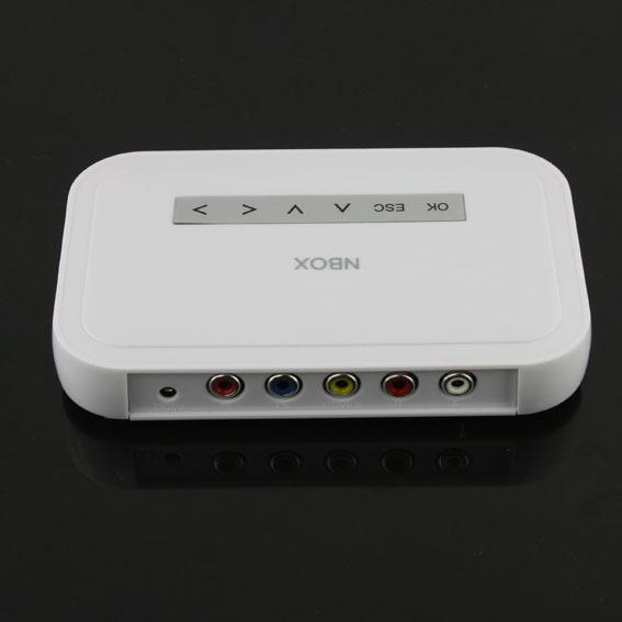Free shipping Flash HDD USB SD Card Media Player RMVB MP3 AVI MPEG Divx High Quality(China (Mainland))
