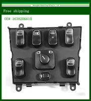 New Hight quality New  Power Window  Switch For Mercedes Benz 1998-2003  OE# 1638206610  send it from US to US mainland