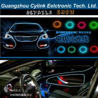 2.0 Meters Auto EL (ElectroLuminescent) strip light EL Wire-electroluminescent wire light
