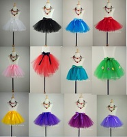 Colorful  hand made tulle tutu  pettiskirts Child dance costume Child girl costume Children's skirft Children's party
