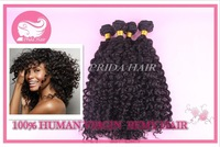 Free Shipping Grade 5A Brazilian Virgin Hair Extensions,Afro Kinky Curly Human Hair weave Machine weft ,3pcs lot hair bundles