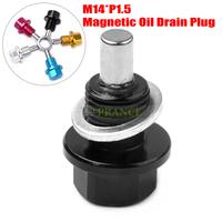 Hot Sales!! M14*1.5 Magnetic Oil Drain Plug For Honda Mitsubishi Mazda Ford Free Shipping