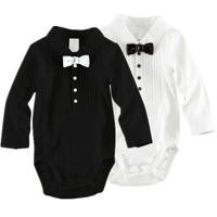 HB142 Free ship Baby Boy's Bowtie Gentleman Modelling Romper Cotton Infant Rompers Baby Suit, baby romper, Honey Baby