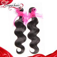 Free Shipping 3PCS Lot Peruvian Virgin Hair Body Wave 6A Unprocessed Human Peruvian Hair Weave Wavy Longqi Hair Product LQPBW007