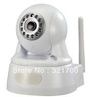 P2P plug&play 2Megapixel 1080P H.264 wireless IP Camera supprt 32GB TF card storage work with Onvif white