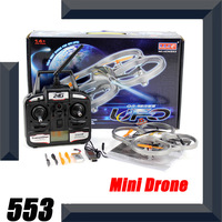 Mini parrot ar.drone 4-axis 3D 2.4GHz control 4CH remote control rc quadcopter kit  VS V252 V262 JXD385 X30V