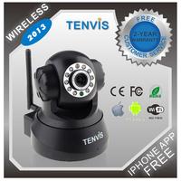 Original TENVIS JPT3815W P2P Plug&Play Wireless Indoor IP Camera Network Night Vision Pan/Tilt CMOS Sensor