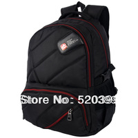 JustCool  new  arrival casual/travel/tips backpack middle/high/university school bag  for boys girls men  red