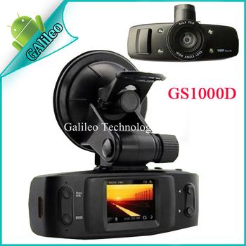 "100% Original GS1000 Car Camera DVR Full HD 1920*1080P 30FPS 1.5"" LCD with GPS logger G-sensor H.264 4 IR light Ambarella CPU"