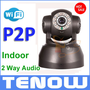 IP Camera Night Vision 2 Way Audio Wireless Network Internet Wifi RJ45,Indoor Home Surveillance CCTV IP Camera