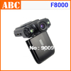 Original F8000 Car DVR Ambarella Full HD 1080 30fps CMOS Car Camera Camcorder HDMI Russian USB Cigarette Charger Socket Adapter