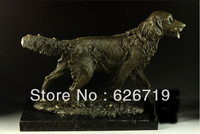Best Selling Door to Door  High Quality Bronze sculptures Golden retriever dog home decoration CZW-040