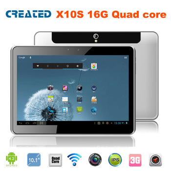 CREATED X10S Cheapest 10 inch tablet pc capacitive screen 3G Android 4.2 HDMI Jelly Bean/Phone Call/GPS/Bluetooth/Dual Cameras