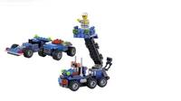 6409 enlighten educational toys Dumper Truck sluban building bricks kids plastic block sets , children toys