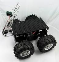 DAGU educational robot 4WD wild thumper with 2DOF gripper acessorios arduino